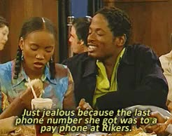 Watch and share Living Single GIFs and Regine Hunter GIFs on Gfycat