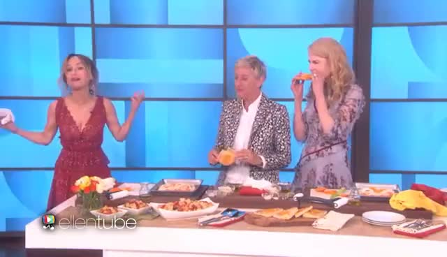 Watch and share Giada De Laurentiis GIFs and Ellen Degeneres GIFs on Gfycat