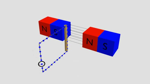 Watch Electromagnetic induction - 3d animation GIF on Gfycat. Discover more related GIFs on Gfycat