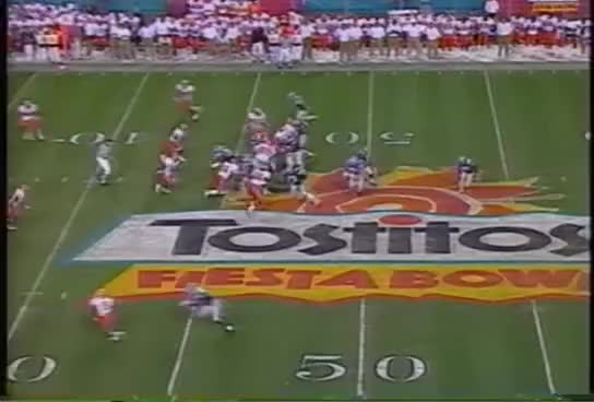 Watch and share 1997 KSU Highlights, Part 5 The Fiesta Bowl GIFs on Gfycat
