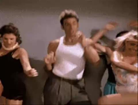 kramer, seinfield, Kramer Dance GIFs