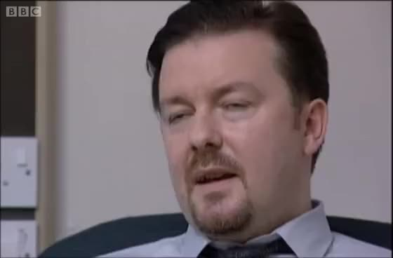 Watch and share Most Awkward Interview Ever - David Brent - The Office - BBC GIFs on Gfycat