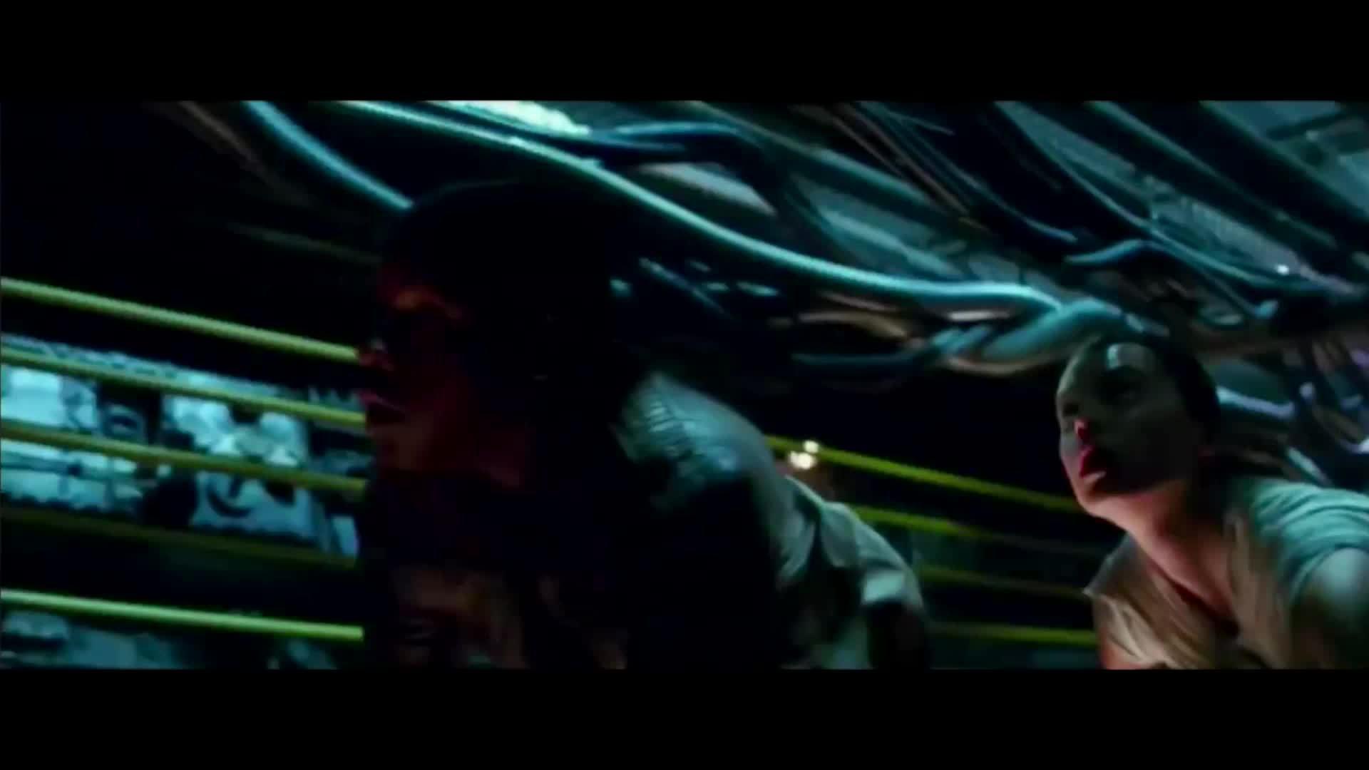starwarsleaks, [GIF]Rey and Finn escape from Starkiller Base (reddit) GIFs