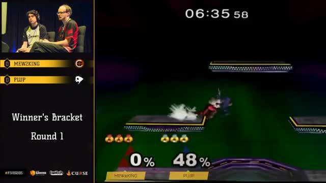 WQ: Mew2king (Sheik) vs. Plup (Sheik)