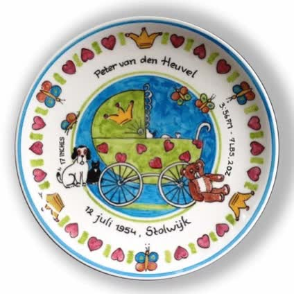 Watch and share Personalized Birth Plates GIFs by dutchbirthplates on Gfycat