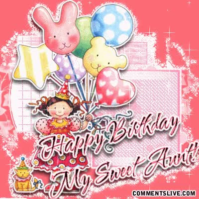 Watch and share Aunt Birthday Picture GIFs on Gfycat