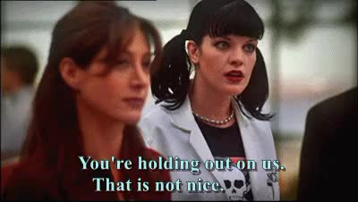 Watch and share Leroy Jethro Gibbs GIFs and Pauley Perrette GIFs on Gfycat