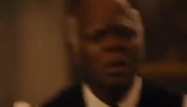 samuel l jackson, Django Unchained:Stephen Scream GIFs