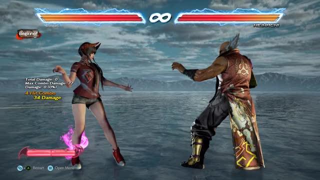 Watch and share Tekken7 GIFs and Tekken GIFs by abomination121 on Gfycat
