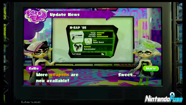 Watch and share Squid Sisters GIFs and First Look GIFs on Gfycat