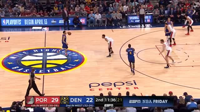 Watch and share Denver Nuggets GIFs and Basketball GIFs by prejuce on Gfycat