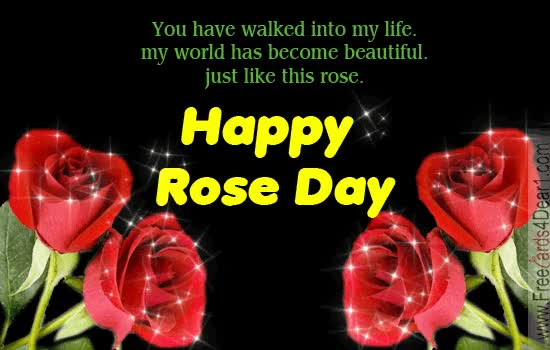 Watch and share Rose Day For Friends Family GIFs on Gfycat