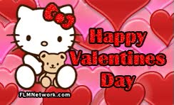 Watch and share Hello Kitty Valentines Day Greeting GIFs on Gfycat