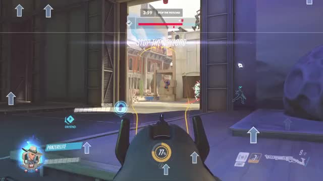 Watch and share Double Dink GIFs and Overwatch GIFs by theexcel on Gfycat