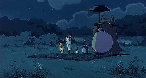 Watch and share Totoro GIFs by Arkaryum on Gfycat