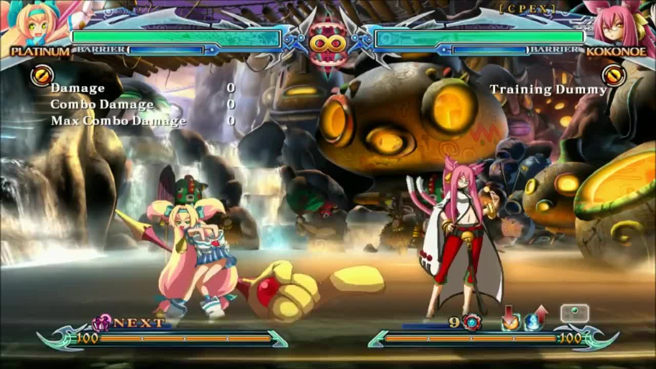 ChronoPhantasma, Happy, PS4, bbcp, blazblue, magika, platinum, ps3, trinity, Platinum the Trinity - Happy Magicka GIFs