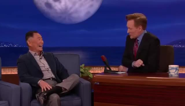 Watch and share George Takei Disses William Shatner & Leonard Nimoy GIFs on Gfycat