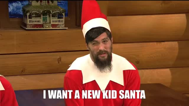 Watch this curated GIF by Media Paradise (@entfanatic) on Gfycat. Discover more elf, elf on the shelf, jason momoa, saturday night live, snl GIFs on Gfycat