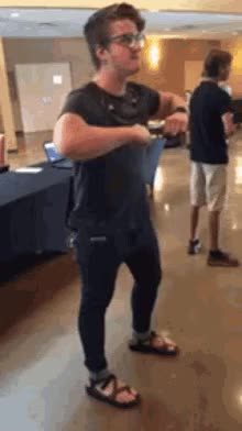 Watch and share Happy Dance GIFs on Gfycat