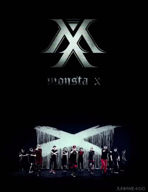 Watch and share Monsta X Logo GIFs and Kkreations GIFs on Gfycat
