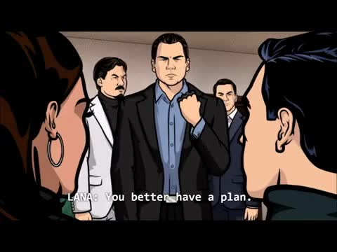 Watch and share Respect Sterling Archer (reddit) GIFs by waaaghboss82 on Gfycat