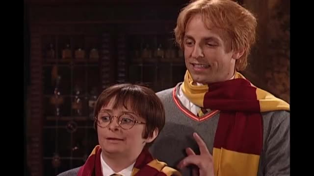 Watch Harry Potter: Hermione Growth Spurt - SNL GIF on Gfycat. Discover more 2000s, Adventure, Hogwarts, Ron, SNL, Spells, classic, comedy, fred, funny, hermione, hermoine, impersonation, laugh, magic, monsters, movie, sketch, wand, weasley GIFs on Gfycat
