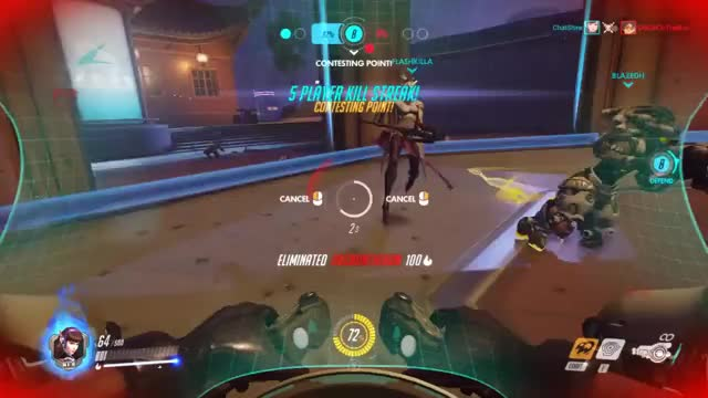 Watch and share Overwatch GIFs and Hanzo GIFs by chatshire on Gfycat