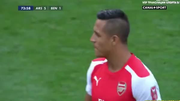 Watch Alexis's nice touch & turn GIF on Gfycat. Discover more gunners GIFs on Gfycat