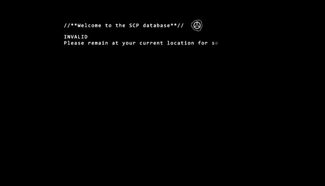 SCP DOCS - SCP DOCS - Intro - GIFs