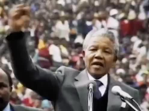 Watch and share Nelson Mandela GIFs and South Africa GIFs on Gfycat