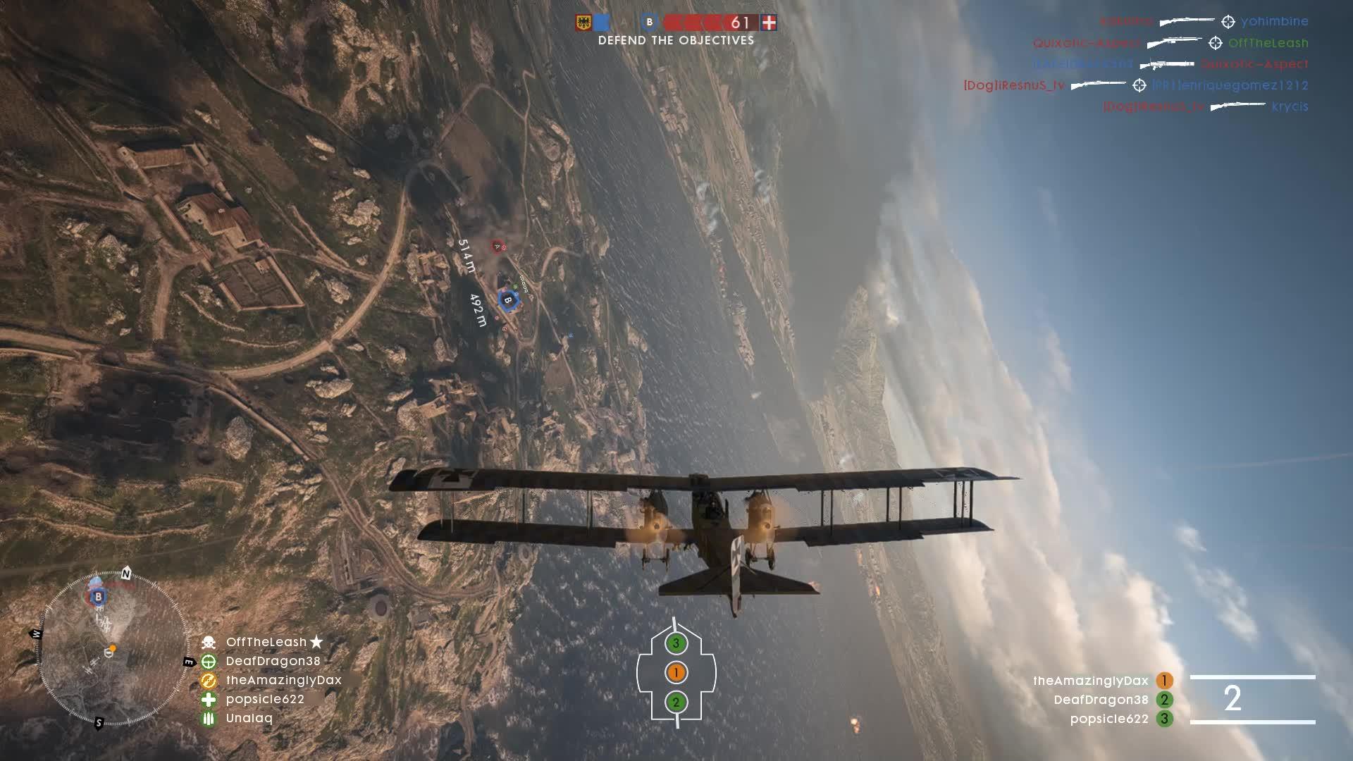 battlefield1, Defense Bombing Run GIFs