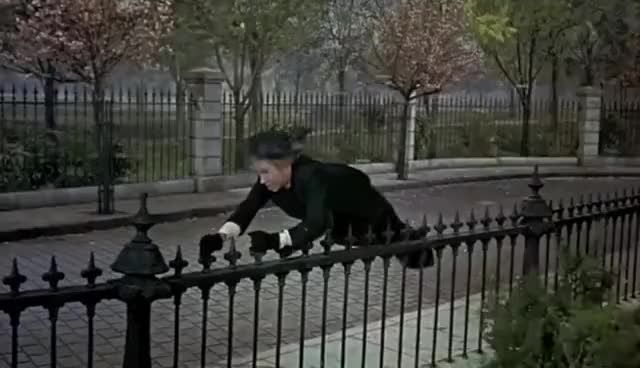 Watch and share Mary Poppins GIFs and Wind GIFs on Gfycat