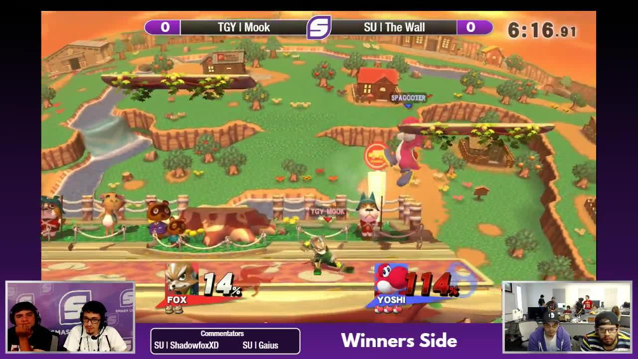 fox, yoshi, SFC 48 - TGY | Mook vs. SU | The Wall - WQF GIFs