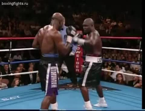 boxing, Toney vs Holyfield GIFs