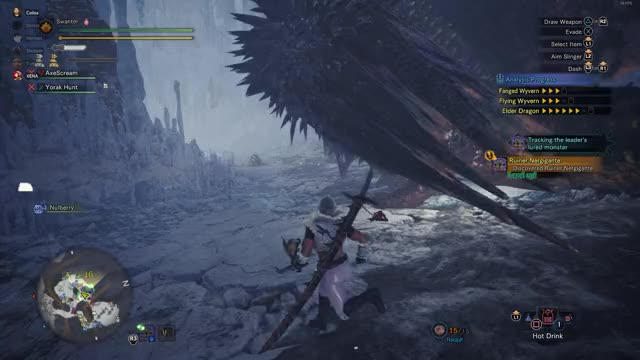 Watch and share Ruiner Nergigante GIFs and Gone Wrong GIFs by Swanter on Gfycat