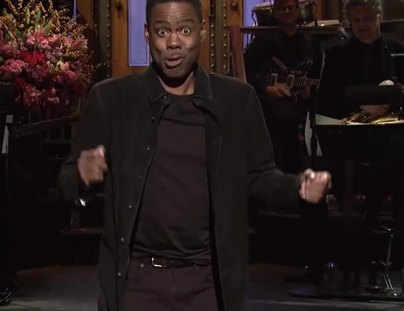 Chris, Chris Rock, Rock, awesome, epic, excited, exciting, funny, great, live, night, run, saturday, scared, snl, surprised, tada, what, wow, Chris Rock Run GIFs