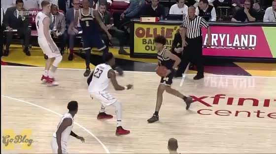 Watch and share Jordan Poole GIFs and Basketball GIFs by MGoBlog on Gfycat