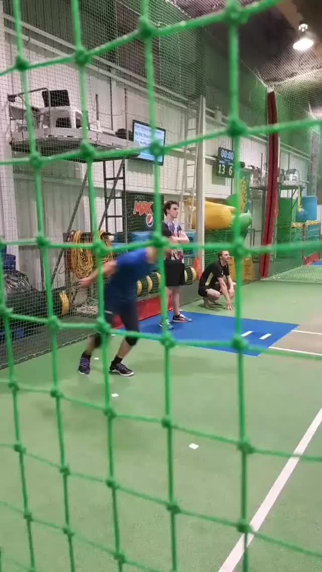 Watch and share Dodgeball - Cartwheel Throw VID-20180329-WA0014 GIFs on Gfycat