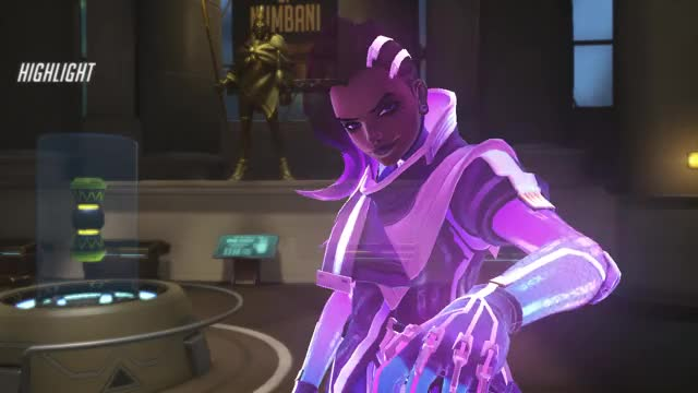 Watch and share Overwatch GIFs and Sombra GIFs by GAMIR_SFM on Gfycat