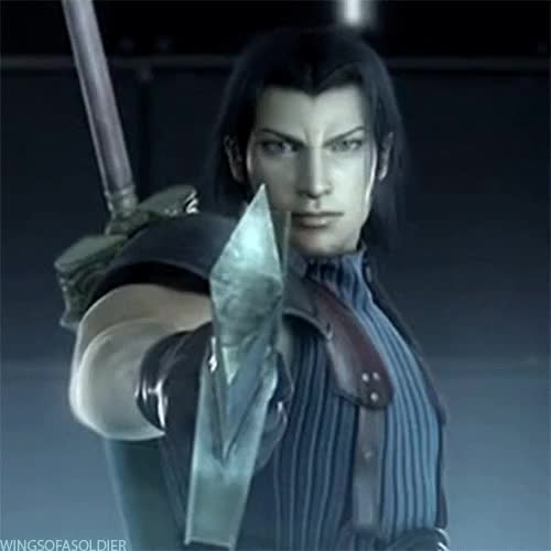 Watch Silver Elite GIF on Gfycat. Discover more alternative ending, angeal hewley, crisis core, genesis rhapsodos, sephiroth, zack fair GIFs on Gfycat