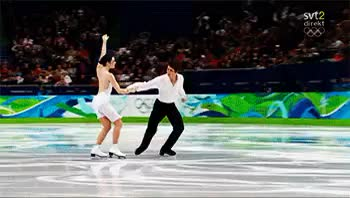 Watch Vancouver 2010 // FD Warm-up *-* GIF on Gfycat. Discover more FD Mahler, awww, holding hands, my gifs, scott moir, sweet moment, tessa virtue, the way they look at each other everytime, their warm-up are always interesting, they love ach other, vancouver 2010 GIFs on Gfycat