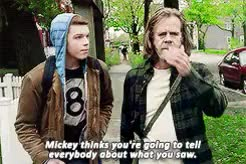 Watch and share Frank Gallagher GIFs and Ian Gallagher GIFs on Gfycat