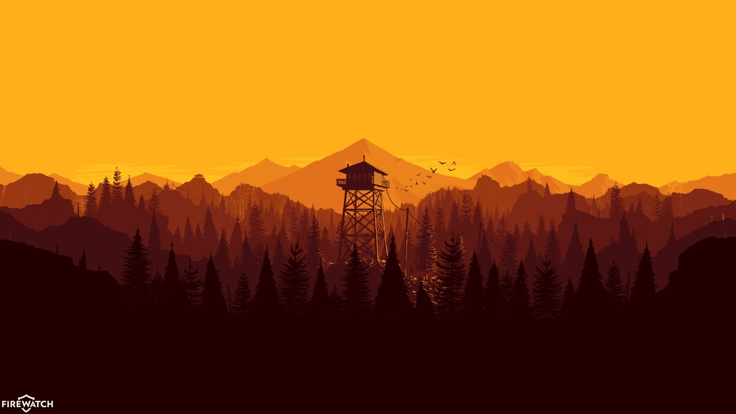 Firewatch, firewatch, I made a Windows 7 Theme with day/night cycle! (reddit) GIFs