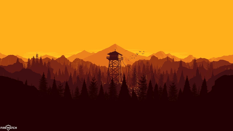 Firewatch, firewatch, I made a Windows 7 Theme with day/night cycle! (reddit) GIFs