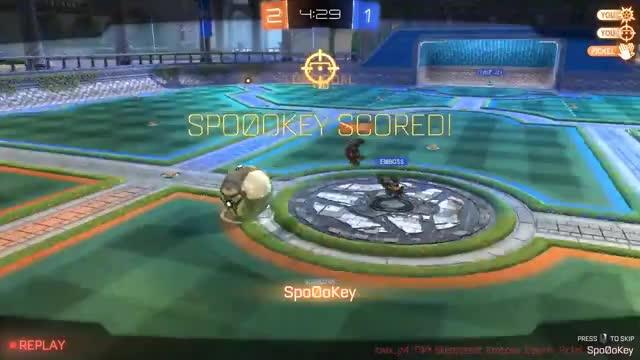 Watch and share Rocket League GIFs by spo0okey on Gfycat