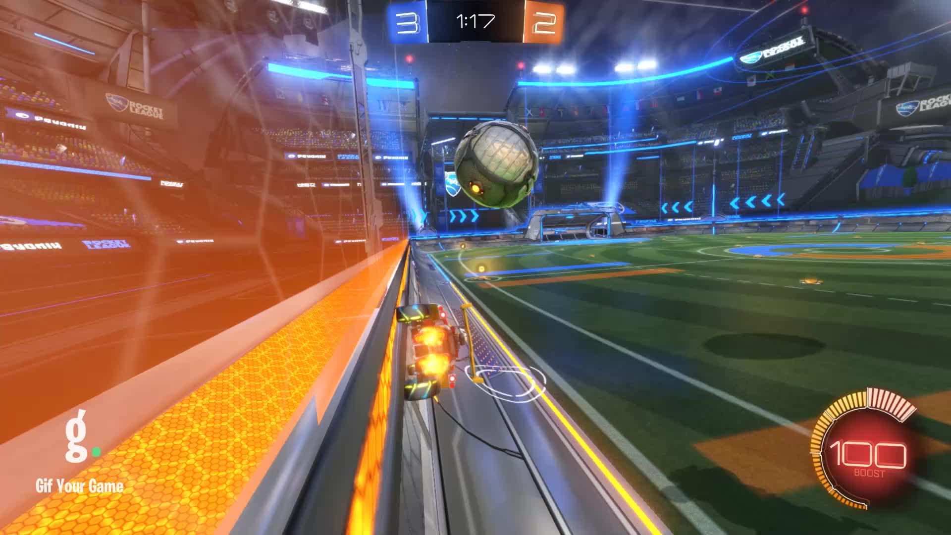 Gif Your Game, GifYourGame, Goal, Goldfish, Rocket League, RocketLeague, Goal 6: Goldfish GIFs