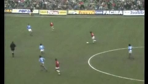 Watch and share Ruud Gullit. Milan - Napoli. 03.01.1988 GIFs by fatalali on Gfycat