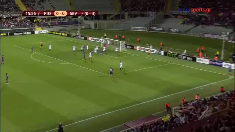 soccergifs, Sergio Rico's great save against Fiorentina GIFs