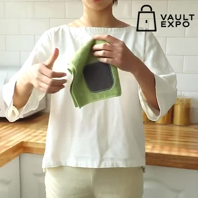 Watch and share ANTI-GREASE DISH CLOTH-NEW-VE-KARLO GIFs by Nikkie Cinco Munda on Gfycat