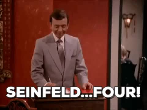 Watch this seinfeld GIF on Gfycat. Discover more cosmo kramer, elaine benes, george costanza, jason alexander, jerry seinfeld, julia louis-dreyfus, kramer, michael richards, seinfeld, television, tv, tv show GIFs on Gfycat